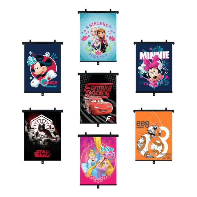 Single pack Disney Minnie Mouse side roller blind sunshade