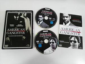 American Gangster 2 DVD Steelbook English Deutsch - German Edit Russell Crowe Am