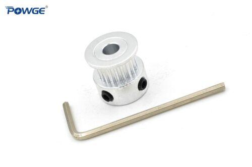 2GT//GT2 Timing Pulley 20 Teeth Bore 5//6//6.35//8mm for Belt Width 6//9mm 20teeth