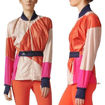 Diligente Adidas Da Donna Stella Mccartney Eseguire Kite Giacca Leggero Corsa Palestra Top-mostra Il Titolo Originale