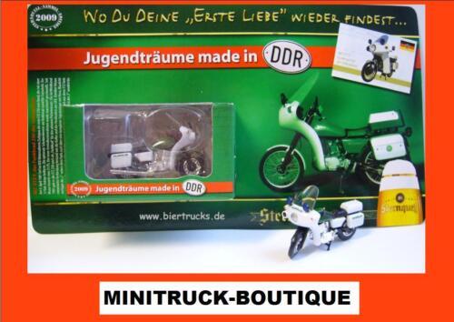 MZ ETZ f motocicleta pueblo de policía Estrella de origen cervecería-rda-Edition 1//2009 +
