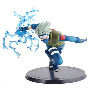 Japanese Anime Naruto Shippuden Chidori Xtra Kakashi Model Action Figure