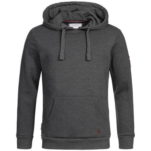 Marikoo Hoodie Herren Sweater Pullover Kapuzen Pulli Kapuzenpullover Sweat OMTAK