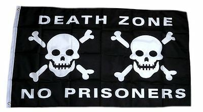 Fahne / Flagge Pirat Death Zone NEU 90 x 150 cm