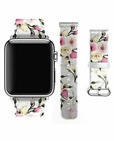 Apple Watch Band, Premium Leather Strap Wrist Band Replacement For Apple Watc...