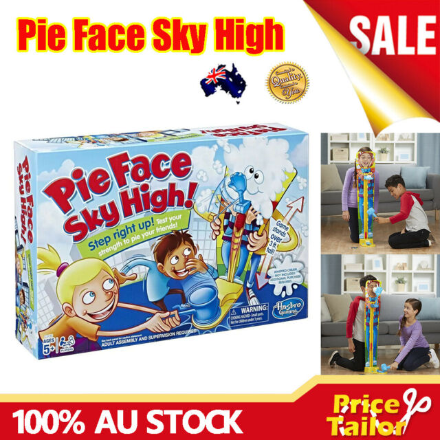 NEW Pie Face Sky High Game Multiplayer Interactive Fun Family Kids Gift Toy