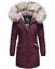 Navahoo-premium-para-mujer-muy-caliente-invierno-chaqueta-invierno-parka-capa-lujo-Cristal miniatura 11
