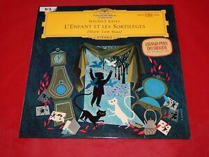 Vintage-Maurice-Ravel-Lorin-Maazel-L-039-Enfant-Et-Les-Sortilege-LP-1961-138-675