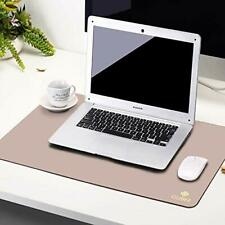Gubee Pu Leather Multifunctional Office Desk Mat Mouse Padwaterproof Non Slip