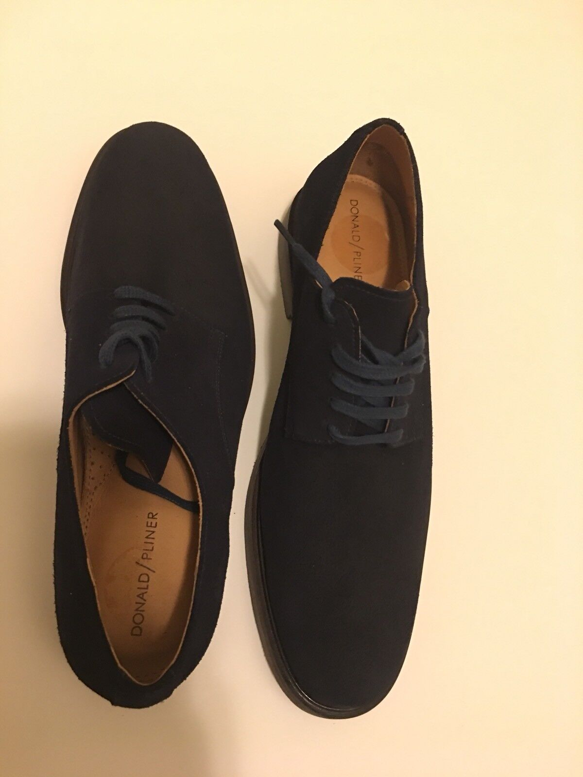New Donald Pliner Placido bluee Suede Oxford USA Size 10.5 Retail  180
