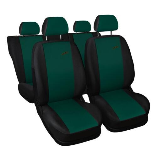 Universal Autositzbezüge für Dacia Lodgy Grün Sitzbezug Autositz Schonbezüge XR