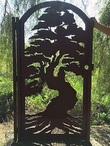 Bonsai Tree Gate Custom Pedestrian Walk Thru Entry Walk