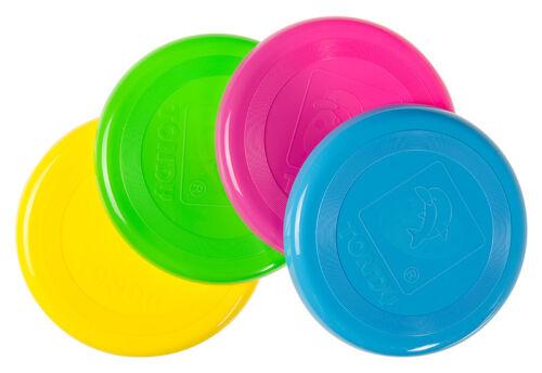 Spielzeug Großhandel & Sonderposten Frisbee Flying Disc 20cm 5 Neon Farben Fliegende Scheibe Wurfscheibe Tombola