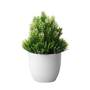 Artificial-Flower-Potted-Set-Desktop-Fake-Plants-Bonsai-Plastic-Vase-Fake-P3A9