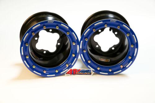 Kartsport Dwt G2 Schwarz Blau hinter Mx Beadlock Räder Felgen 8  8x8 4/110 Honda TRX 450r Weitere Sportarten