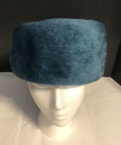 af9641b3796d0 Image is loading VINTAGE-Faux-Fur-HAT-CUSTOM-SWISS-MADE-R-H-