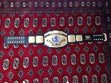 WWF LOGO Campionato Intercontinentale REPLICA titolo Cintura WWE COMPLETO misura adulto