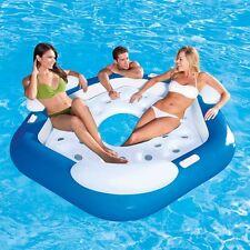 """Bestway X3 Inflable Isla piscina ocioso 3 persona asientos Flotador 75""""x70"""""""