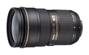 Nikon 24-70mm f/2.8 AS G SWM AF-S IF N ED M/A Lens (Open Box)