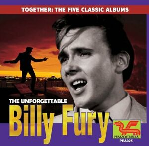 BILLY-FURY-THE-5-CLASSIC-ALBUMS-double-CD