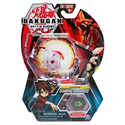 BAKUGAN Core 1 Pack Diamond DRAGONOID NUOVO