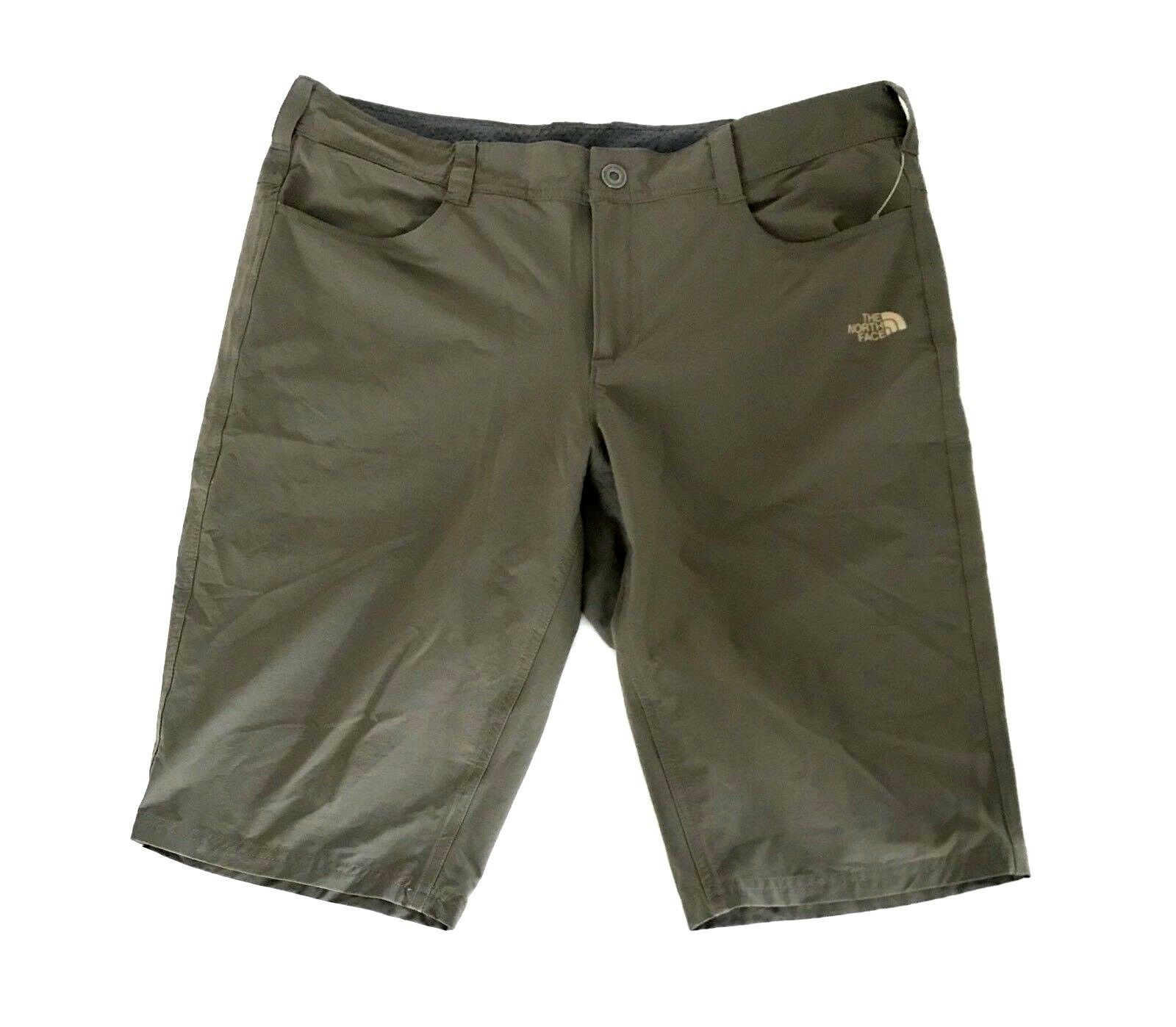 The North Face Donna Taggart Long Shorts Size 12 x 13 marrone Hiking Weimaraner