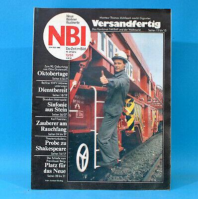 Ddr Nbi 10 1984 Ribnitz Grothewohl Takraf Sprengmeister Karl Foerster Sandberg O Exzellente QualitäT