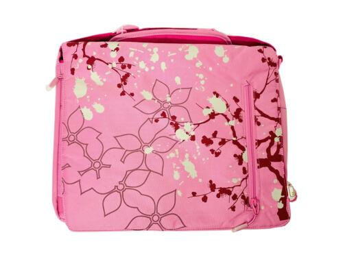 """Messengerbag Laptoptasche 13,3/"""" Notebook Schule Freizeit oliv oder pink Neu"""