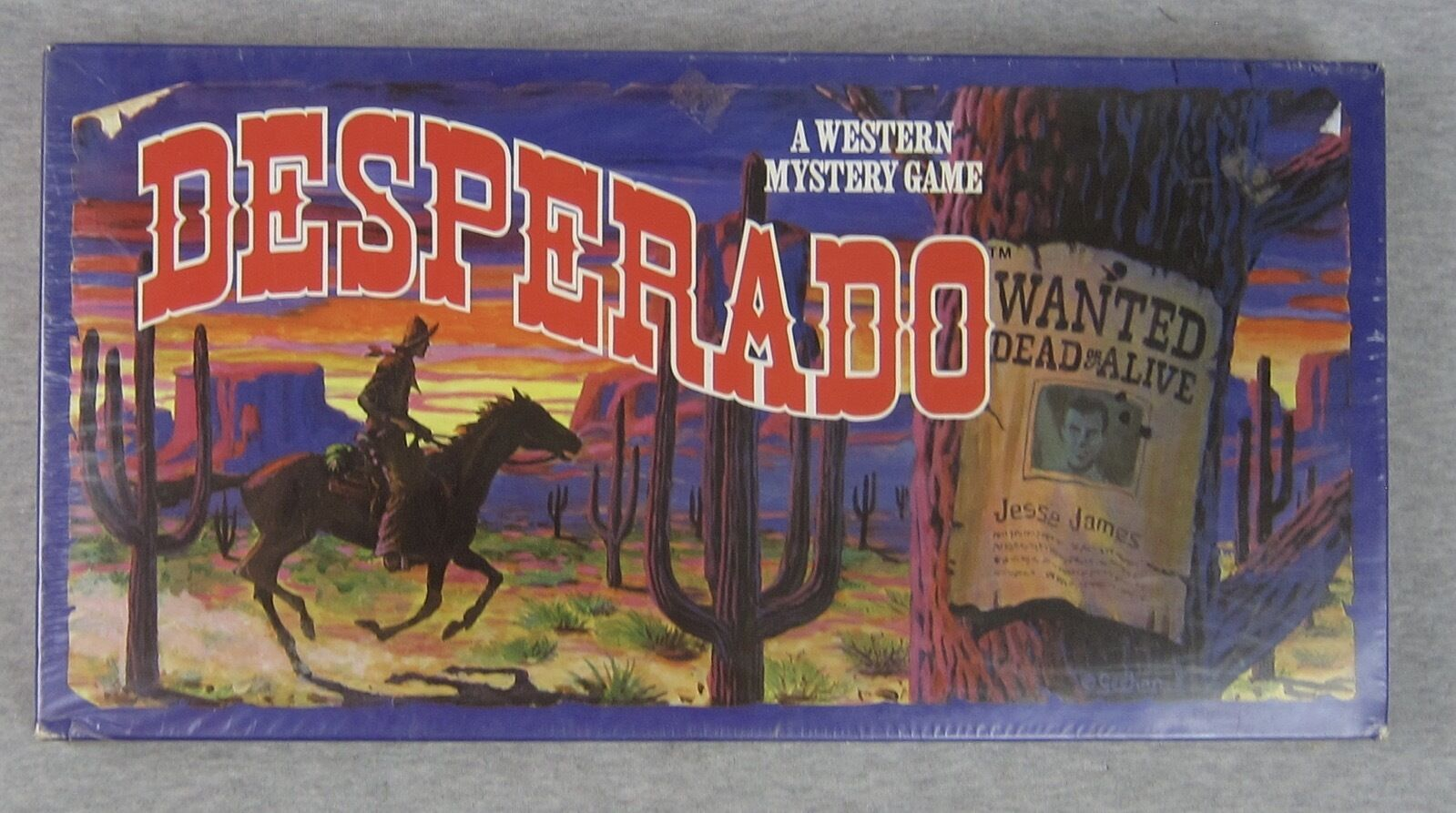 NEW Vintage DESPERADO Western Mystery Game 1985 biancahall SEALED