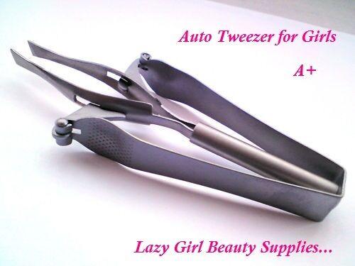 Professional Automatic Eyebrow Shaping Tweezers  Lazy Girl Tweezer