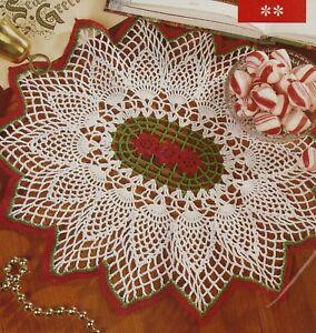 Exquisite Starburst Pineapple Doilycrochet Pattern Instructions