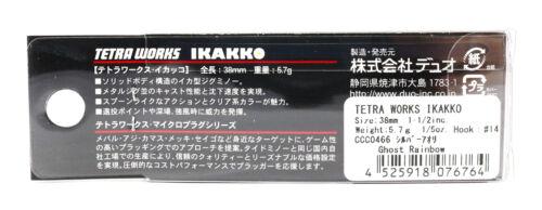 6740 Duo Tetra Works Ikakko 38 mm Sinking Lure ACC0504