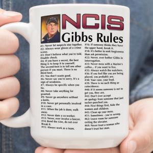 NCIS Gibbs Rules 69 Rules 11oz 15oz White Mug Best Gift NEW FREESHIPPING1