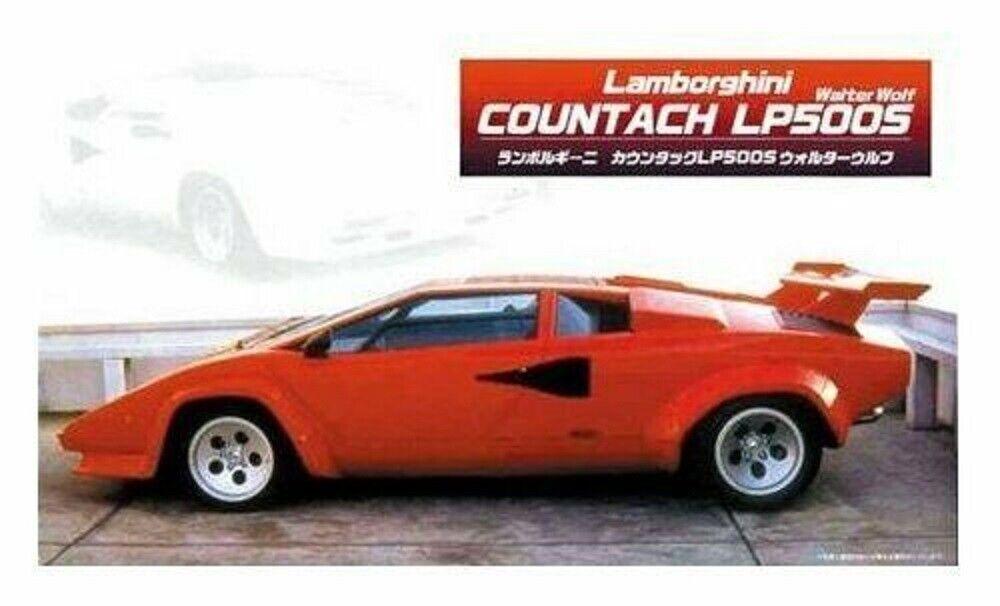 Fujimi 121819 Lamborghini Countach LP500R 1:24 modellismo