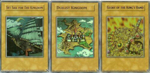 Set Sail for the Kingdom Glory of the King/'s Hand Yugioh Duelist Kingdom
