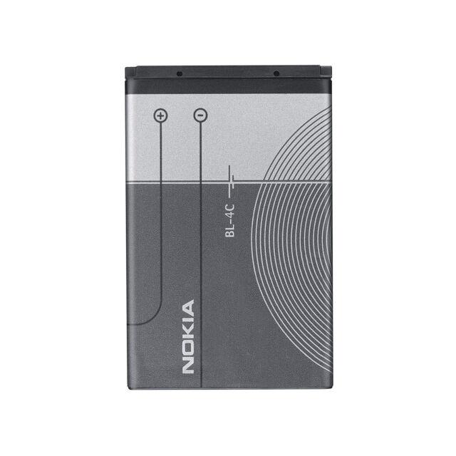 ORIGINAL Nokia Batería BL-4C para 5100 6100 6125 6131 6170 6260 6300 I 7200 7270