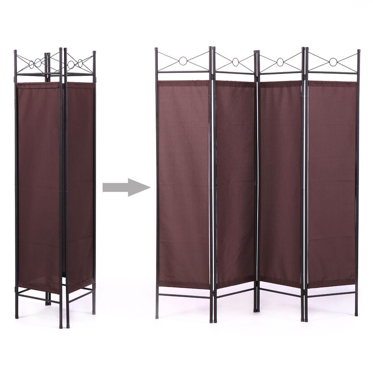 Folding Screen Room Divider 3 Panel Privacy Wood Home Frame Partition Dressing For Sale Online Ebay