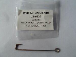 Williams Pinball Wire Actuator Arm 12-6620 Black Knight Earthshaker,F-14 Tomcat
