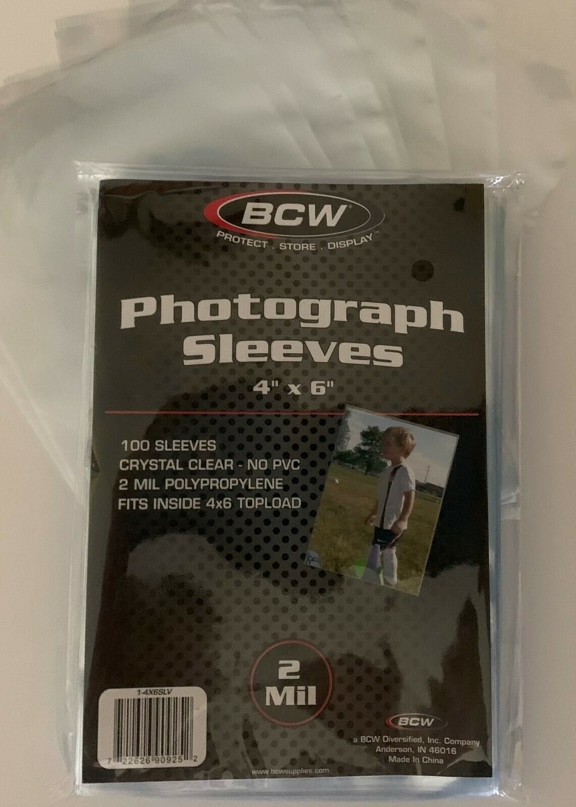 BCW 6 x 9 PHOTO Sleeves 100 Pack