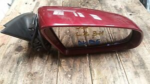 AUDI-A4-B6-DRIVER-SIDE-WING-MIRROR-IN-RED-LZ3H