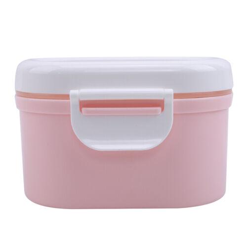 Portable Baby Infant Milk Powder Dispenser Container Storage Colorful Box LA