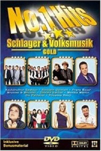 NO. 1 HITS SCHLAGER UND VOLKSMUSIK - GOLD DVD NEU