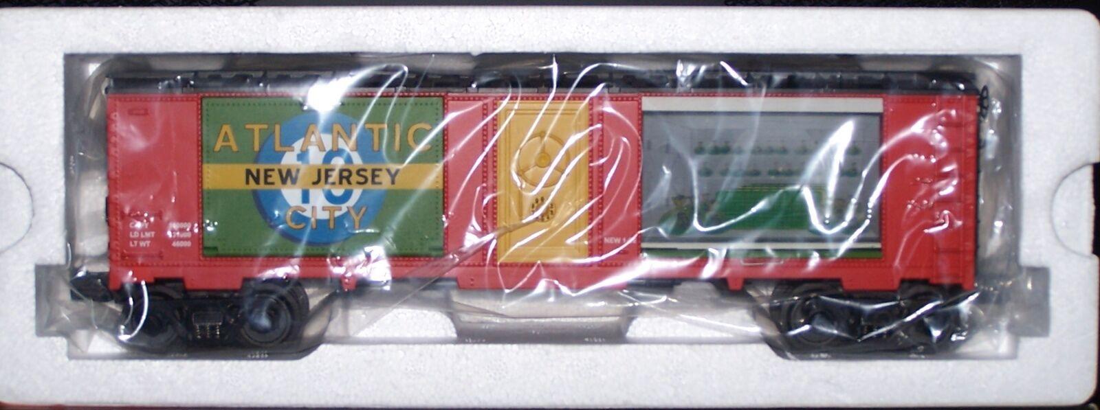 MTH Rail King Atlantic City 40' Window Box Car w/Money 30-74398