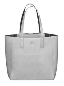 946496918f118 Das Bild wird geladen Orig-Mercedes-Benz-Handtasche-Shopper -Schultertasche-Shopping-Bag-