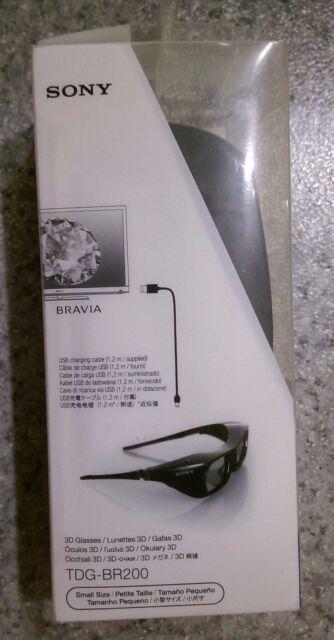 Brand NEW Genuine SONY TDG-BR200 Active 3D Glasses for BRAVIA TV Size S FOR KIDS
