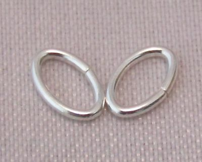 5mm 925 STERLING SILVER TRIANGLE SHAPE OPEN JUMP RINGS QUALITY SILVER 9-14