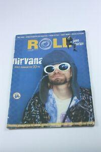 ROLL #5 Turkish Music Magazine 2010s KURT COBAIN COVER Nirvana RARE Oscar Wilde