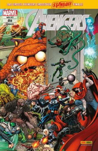 All New 2016 Marvel Comic AVENGERS 8 Heft März 2017