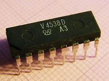 10x V4538D Dual Monoflop (=CD4538), FWE