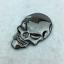 1pc-3D-Metal-Skeleton-Skull-Car-Motorcycle-Side-Trunk-Emblem-Badge-Decal-Sticker miniature 7